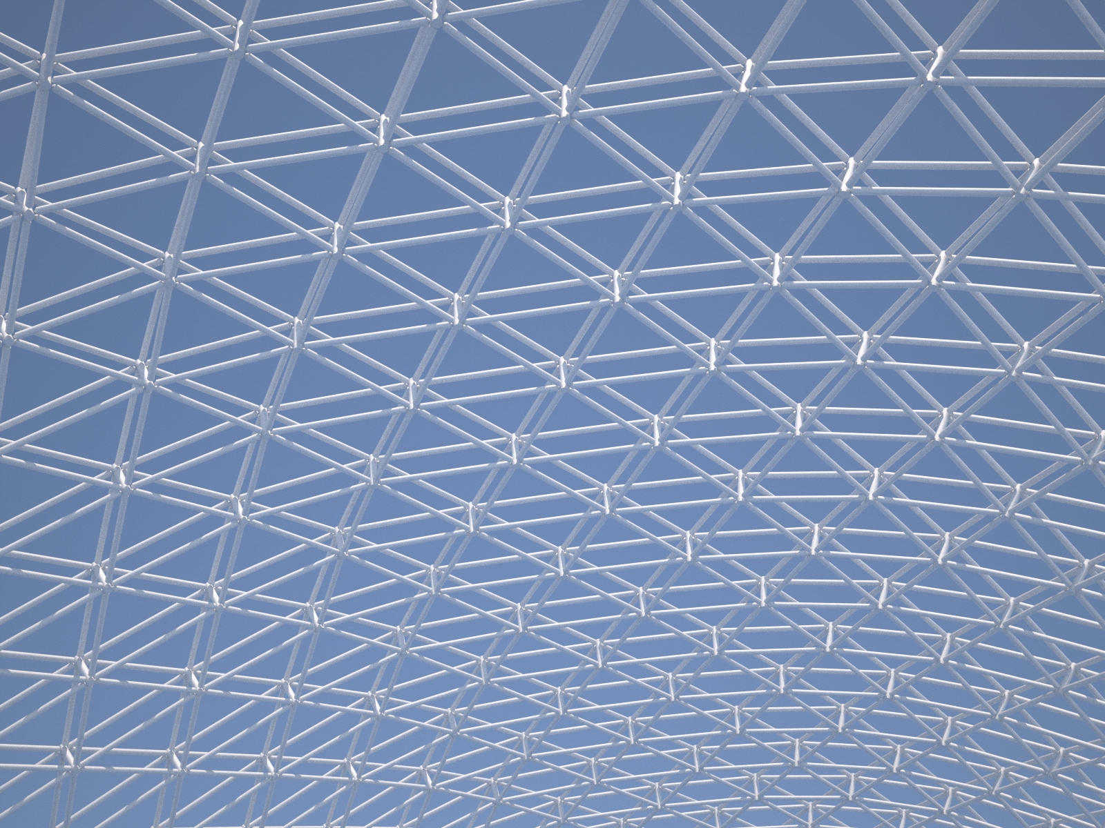 Building a parametric space frame structure